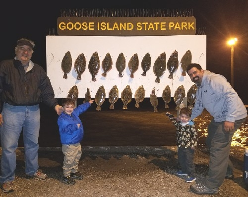 2 DADS 2 LITTLE BOYS GOOSE ISLAND